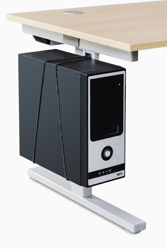 Rechnerhalter, Anbau links oder rechts, nach innen oder außen