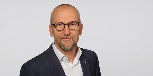 Geschäftsführer Gerd Widule